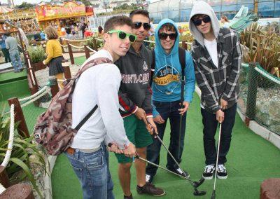 ELI activities mini golfing