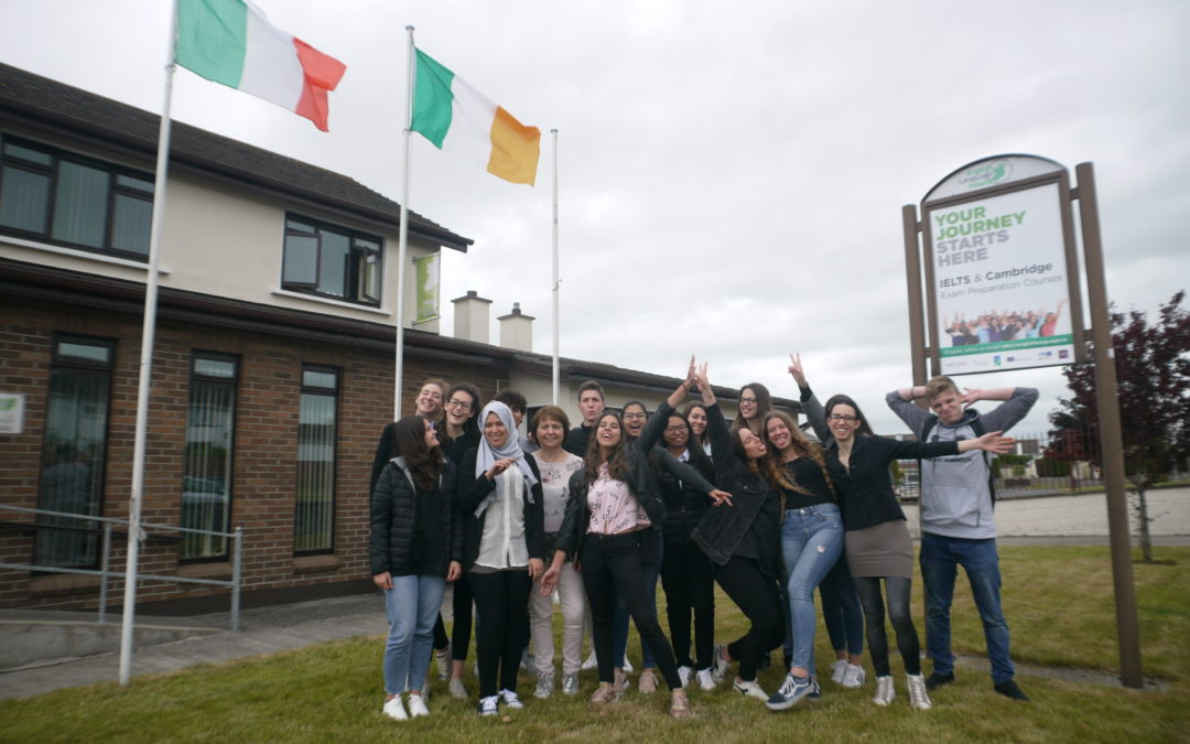 ITS J.SANSOVINO SCHOOL ARRIVES IN CARLOW